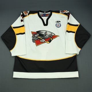 Roussel, Charles-Olivier White Set 1 Cincinnati Cyclones 2012-13 #3 Size: 54