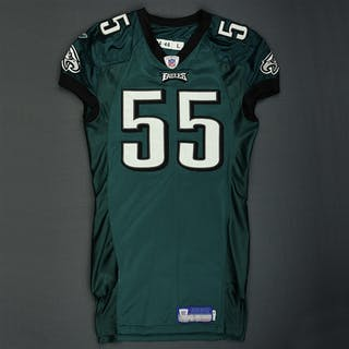 Jones, Dhani * Green Philadelphia Eagles 2005 #55 Size: 46 LINE