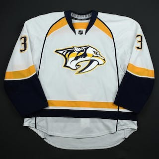 Jones, Seth * White Set 1 - Photo-Matched Nashville Predators 2014-15