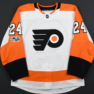 Read, Matt White Set 1 w/ NHL Centennial Patch Philadelphia Flyers