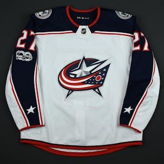 Murray, Ryan White Set 1 w/ NHL Centennial Patch Columbus Blue Jackets