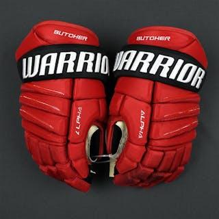 Butcher, Will Warrior Alpha Gloves New Jersey Devils 2017-18
