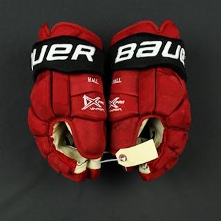 Hall, Taylor Bauer Vapor 1X Gloves New Jersey Devils 2017-18