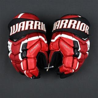Henrique, Adam Warrior Covert Gloves New Jersey Devils 2016-17