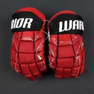 Johansson, Marcus Warrior QR1 Gloves New Jersey Devils 2017-18