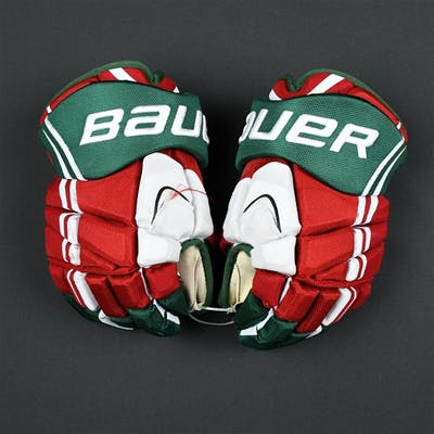 Josefson, Jacob Bauer Vapor APX2 Gloves (Retro Colors) New Jersey
