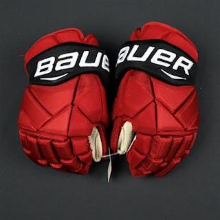 Lovejoy, Ben Bauer Vapor 1X Gloves New Jersey Devils 2017-18