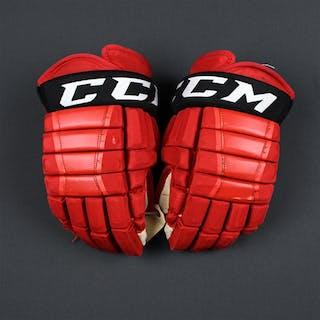 McLeod, Michael CCM HG97XP Gloves New Jersey Devils 2017-18