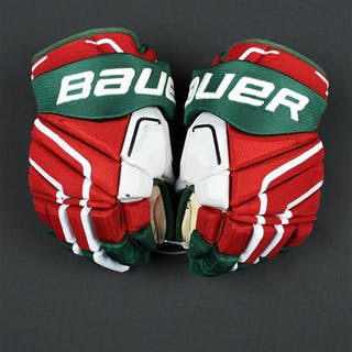 Moore, John Bauer Vapor APX2 Gloves (Retro Colors) New Jersey Devils 2015-16