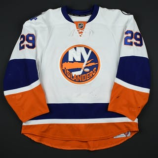 Nelson, Brock * White - w/Brooklyn Inaugural Season and AL patches