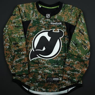 Blank - No Name or Number Camouflage Military Appreciation Warm-Up