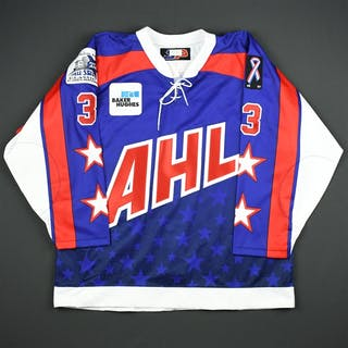 Mottau, Mike * Blue - Autographed - CLEARANCE AHL All Star 2001-02 #3 Size: 56