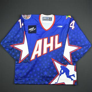 Witehall, Johan * Blue - Autographed - CLEARANCE AHL All Star 1998-99
