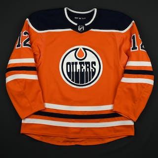 Walker, Nathan Orange Set 2 Edmonton Oilers 2017-18 #12 Size: 56