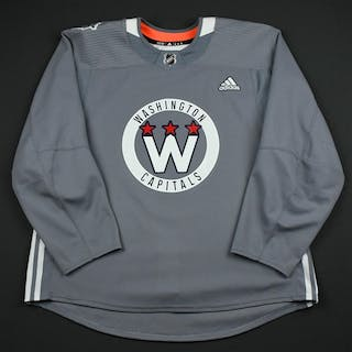 adidas Gray - Stadium Series Practice Jersey - Game-Issued (GI) Washington