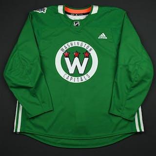 adidas Green - Stadium Series Practice Jersey - Game-Issued (GI) Washington