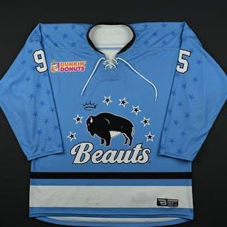 Accursi, Taylor Blue Set 1 Buffalo Beauts 2017-18 #95 Size: LG
