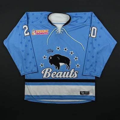 Donohue, Katherine Blue Set 1 Buffalo Beauts 2017-18 #20 Size: MD