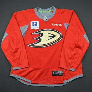 Bieksa, Kevin * Practice - Red w/Pacific Premier Bank Patch - CLEARANCE