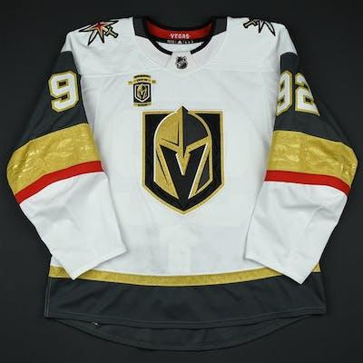Nosek, Tomas White Set 3 w/ Inaugural Season Patch Vegas Golden Knights