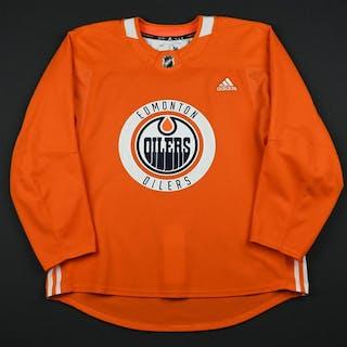 adidas Orange Practice Jersey Edmonton Oilers 2017-18 Size  56 – Current  sales – Barnebys.com 8e7c4910578