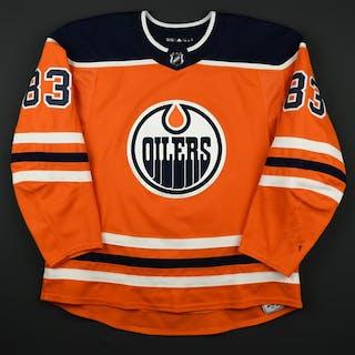 Benning, Matthew Orange Set 2 Edmonton Oilers 2017-18 #83 Size: 58