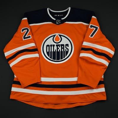 Lucic, Milan Orange Set 2 Edmonton Oilers 2017-18 #27 Size: 58