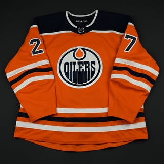Lucic, Milan Orange Set 2 Edmonton Oilers 2017-18 #27 Size: 58