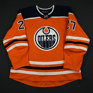 Lucic, Milan Orange Set 1 Edmonton Oilers 2017-18 #27 Size: 58