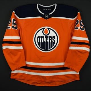 Nurse, Darnell Orange Set 2 Edmonton Oilers 2017-18 #25 Size: 58