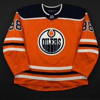 Puljujarvi, Jesse Orange Set 2 Edmonton Oilers 2017-18 #98 Size: 58