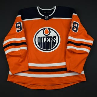 Puljujarvi, Jesse Orange Set 3 Edmonton Oilers 2017-18 #98 Size: 58