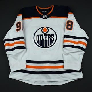 Puljujarvi, Jesse White Set 3 Edmonton Oilers 2017-18 #98 Size: 58