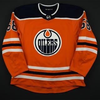 Slepyshev, Anton Orange Set 2 Edmonton Oilers 2017-18 #58 Size: 58