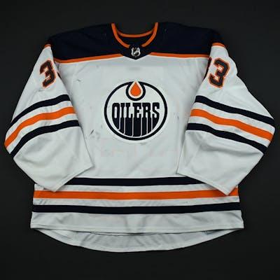 Talbot, Cam White Set 3 Edmonton Oilers 2017-18 #33 Size: 60G