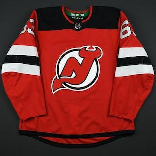 Bratt, Jesper Red Set 3 New Jersey Devils 2017-18 #63 Size: 54