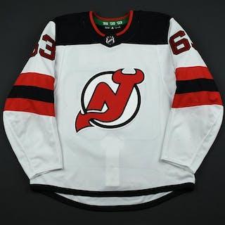 Bratt, Jesper White Set 3 / Playoffs New Jersey Devils 2017-18 #63 Size: 54