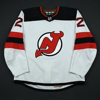 Moore, John White Set 2 New Jersey Devils 2017-18 #2 Size: 56