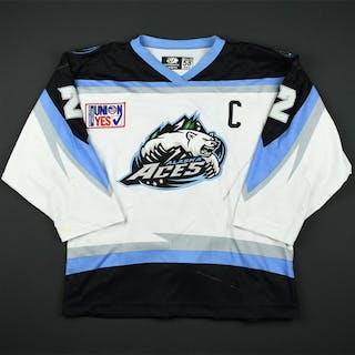 McCambridge, Keith * White Set 1 w/C Alaska Aces 2003-04 #2 Size: 58