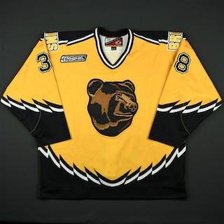 Andreychuk, Dave * Gold Alternate w/NHL 2000 patch Boston Bruins 1999-00 #38