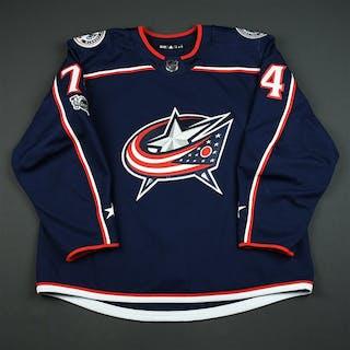 Vigneault, Sam Blue Set 1 w/ NHL Centennial Patch - Preseason Only