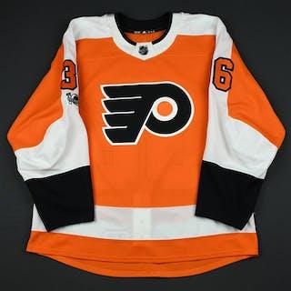 McDonald, Colin Orange Set 1 w/ NHL Centennial Patch - Preseason Only