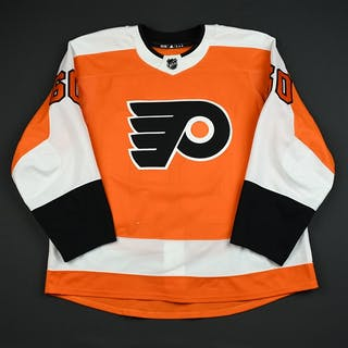 Willcox, Reece Orange Set 1 - Game-Issued (GI) Philadelphia Flyers