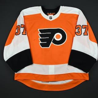 Elliott, Brian Orange Set 2 Philadelphia Flyers 2017-18 #37 Size: 58G