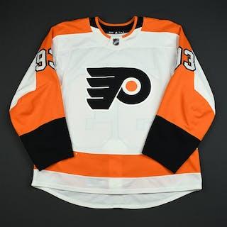 Voracek, Jakub White Set 2 Philadelphia Flyers 2017-18 #93 Size: 56
