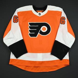 Sanheim, Travis Orange Set 3 / Playoffs Philadelphia Flyers 2017-18 #6 Size: 58