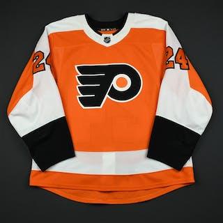 Read, Matt Orange Set 3 / Playoffs Philadelphia Flyers 2017-18 #24 Size: 54