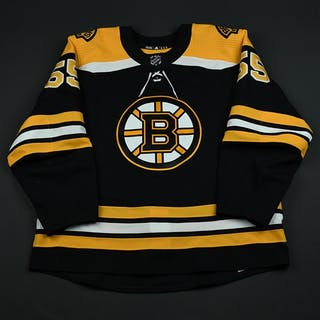 Acciari, Noel Black Set 3 / Playoffs Boston Bruins 2017-18 #55 Size: 56