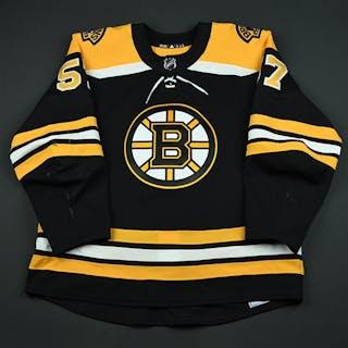 Wingels, Tommy Black Set 3 / Playoffs Boston Bruins 2017-18 #57 Size: 56