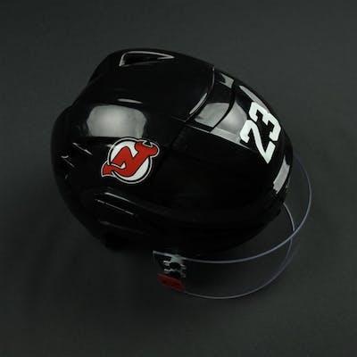 Noesen, Stefan Black, Warrior Helmet w/ Oakley Shield New Jersey Devils